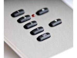 Rako RCS-07 7 Button Classic Panel with Screwless Plate Fixing