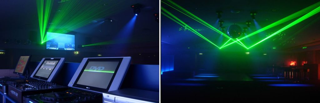 DJ Equipment Manchester Laser Lighting