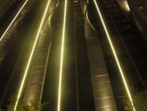 Building edge lighting