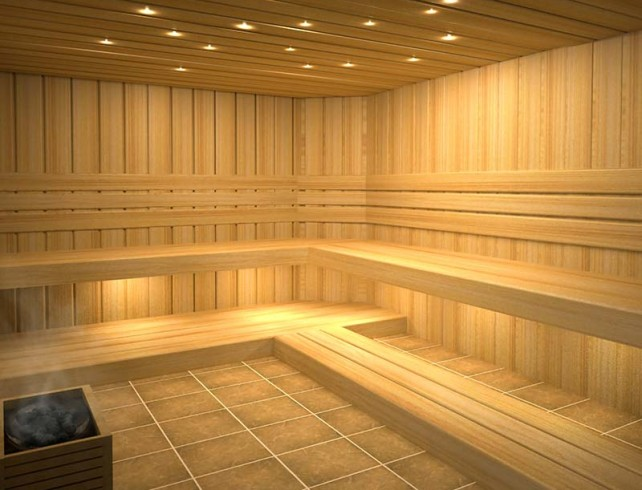 Slk4 Ufo Fibre Optic Sauna Lighting