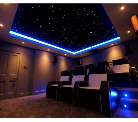 14 2m X 3m Infinity Fibre Optic Star Ceiling Panel System