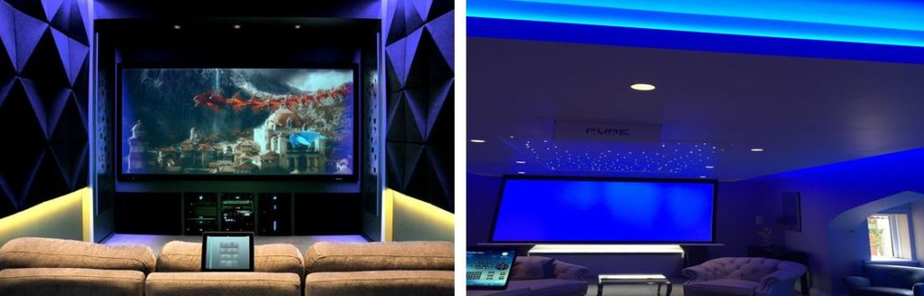 LED and Project Home Cinema Bespoke Solutions
