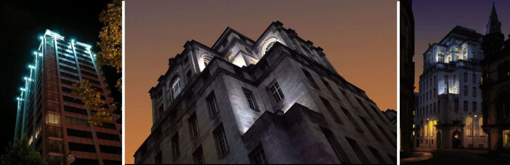 Gotham Hotel Classic Architecture Lighting Manchester
